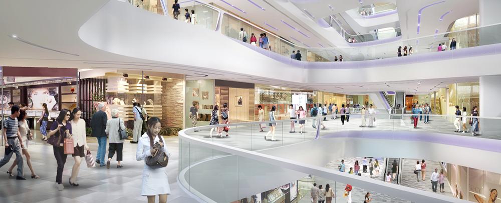 """Trung tâm thương mại là """"đặc sản"""" của dòng dự án cao cấp Vinhomes tại Trung tâm"""