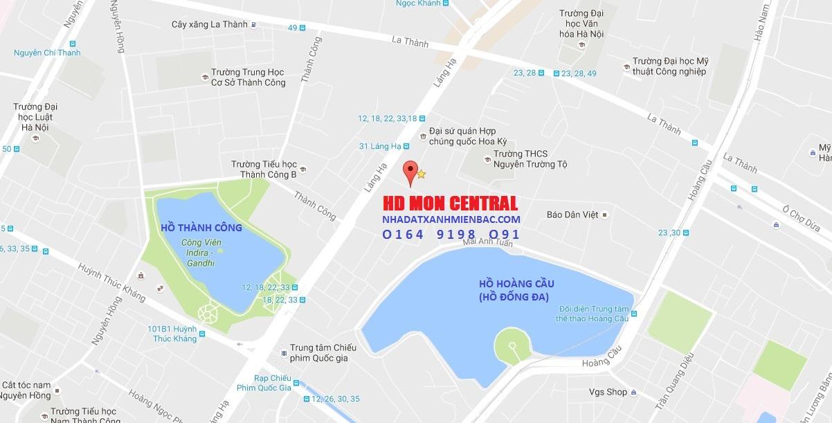 Vị trí Vàng 29 Láng Hạ tại Quận Đống Đa - Trung tâm của Trung tâm Hà Nội