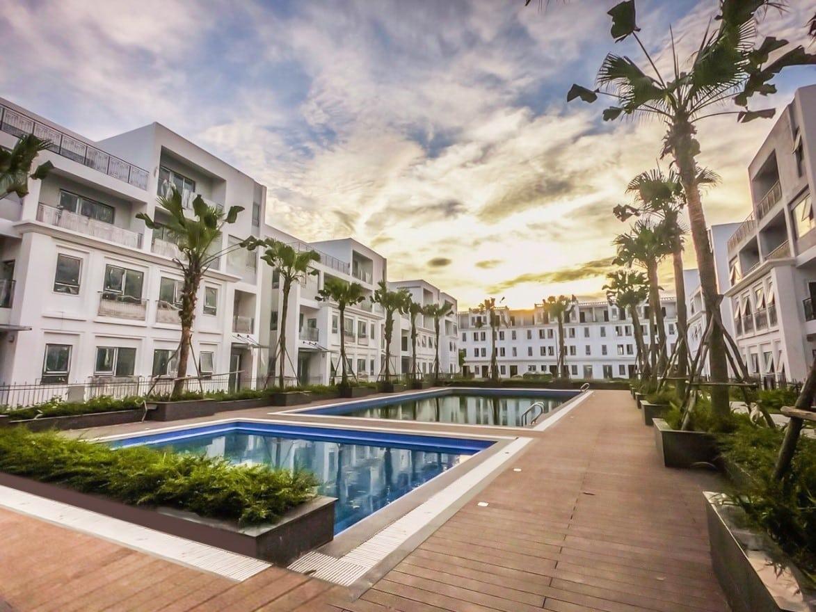 Biệt thự The Manor Nguyễn Xiển thực tế