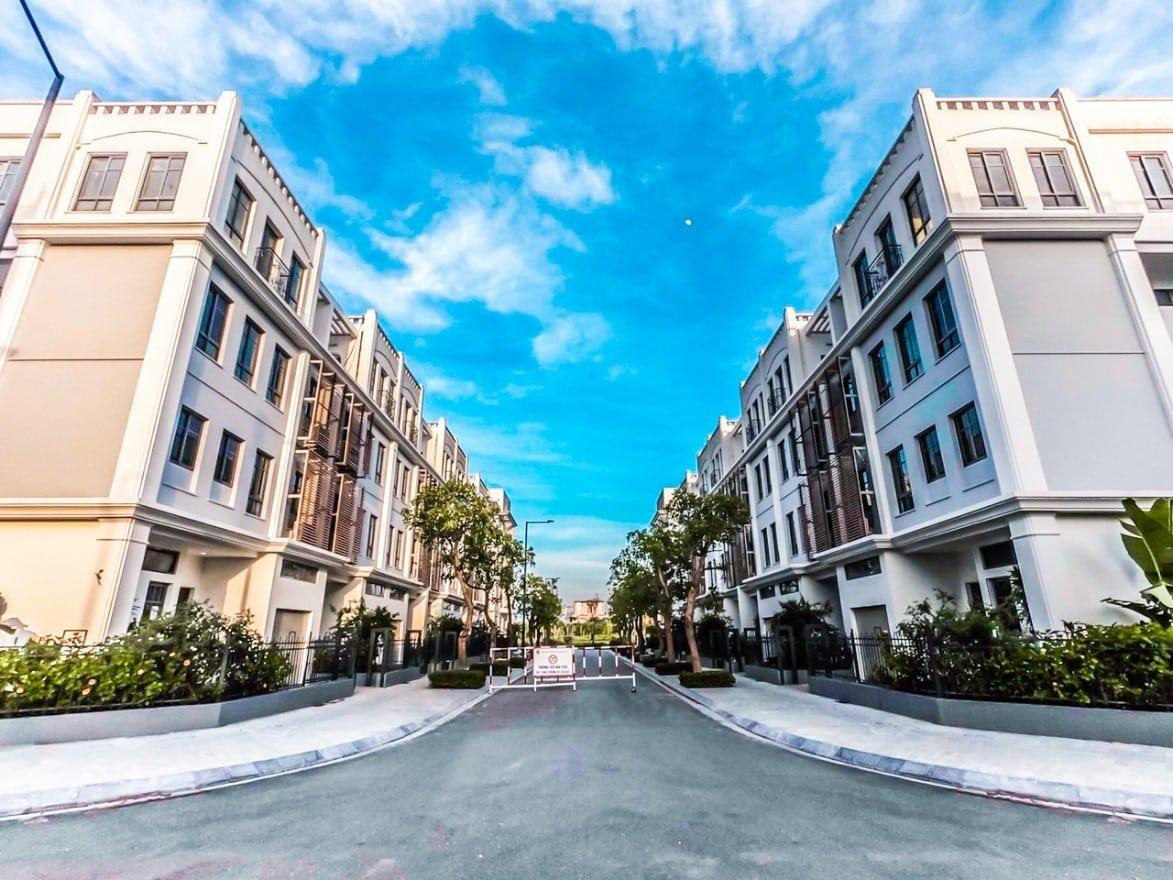 Liền kề The Manor Nguyễn Xiển thực tế