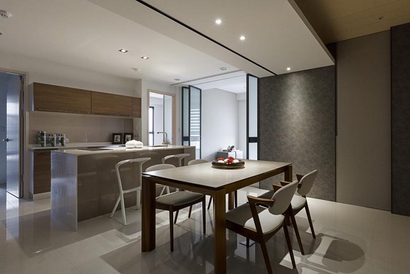 Phòng ăn tại Dự án chung cư 16 Láng Hạ Oriental Plaza