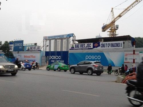 Nhà thầu chính POSCO E&C triển khai chung cư 16 Láng Hạ