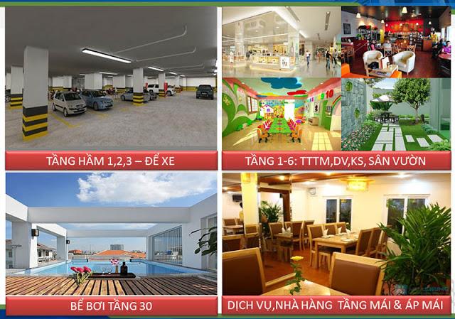 Hệ thống Tiện ích cao cấp, hoàn hảo tại chung cư 16 Láng Hạ Oriental Plaza