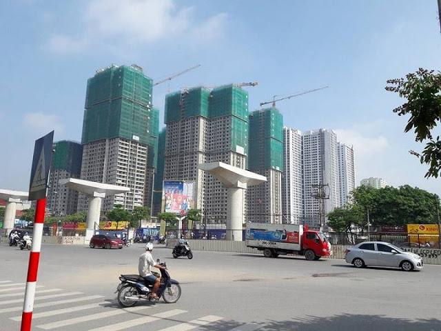 ảnh thực tế dự án goldmark city