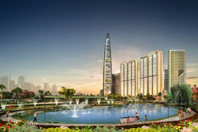Dự án Chung cư Golden Palace A Mễ Trì - Phú Đô - The Matrix One tháp 73 tầng