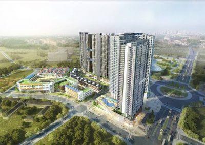 Chung cư Golden Place A chủ đầu tư Mai Linh