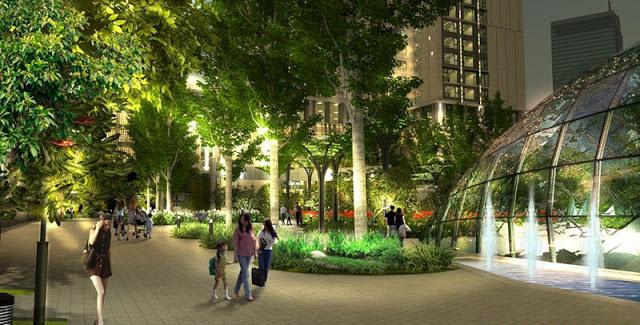 Tiện ích cao cấp phong phú tại Tổ hợp Dự án Chung cư Golden Palace A Mễ Trì - Phú Đô