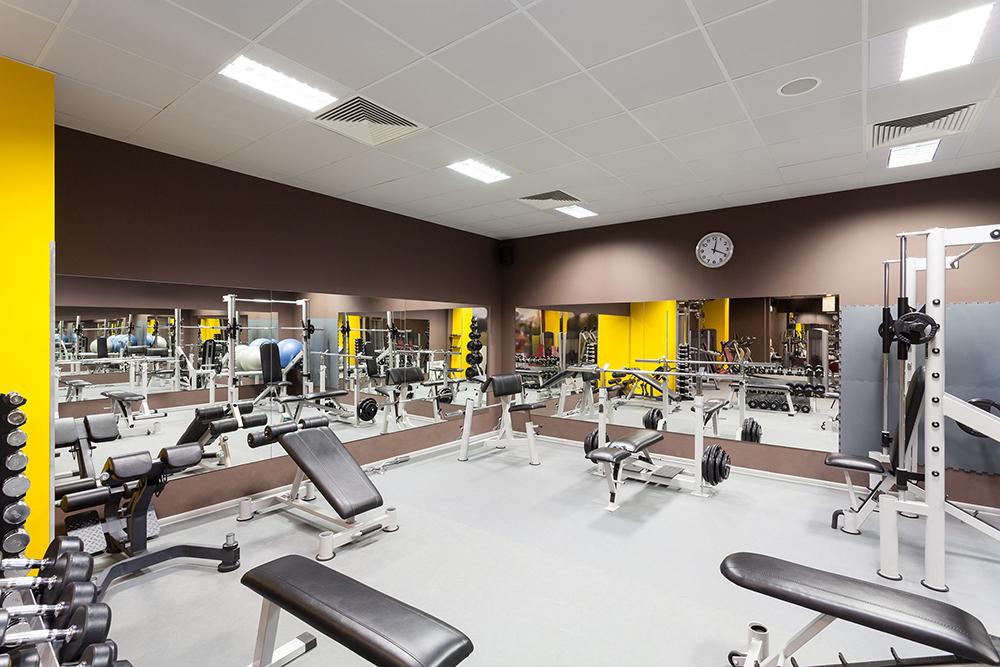Phòng tập Gym tại Tổ hợp Dự án Chung cư Golden Palace A Mễ Trì - Phú Đô