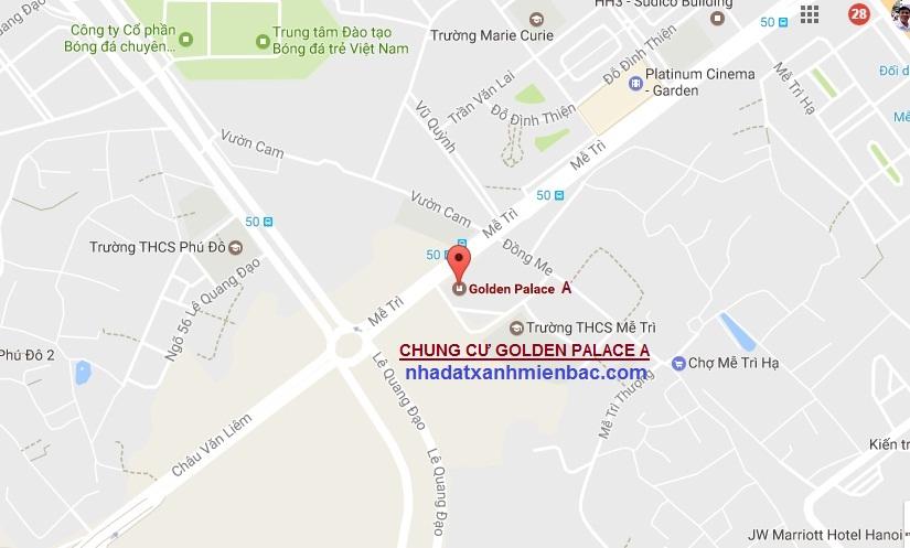 Vị trí đắc địa trung tâm Mỹ Đình dự án Golden Palace A