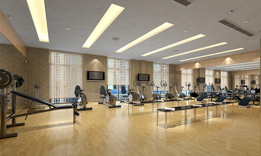 Phòng tập Gym tại Chung cư HATECO Xuân Phương