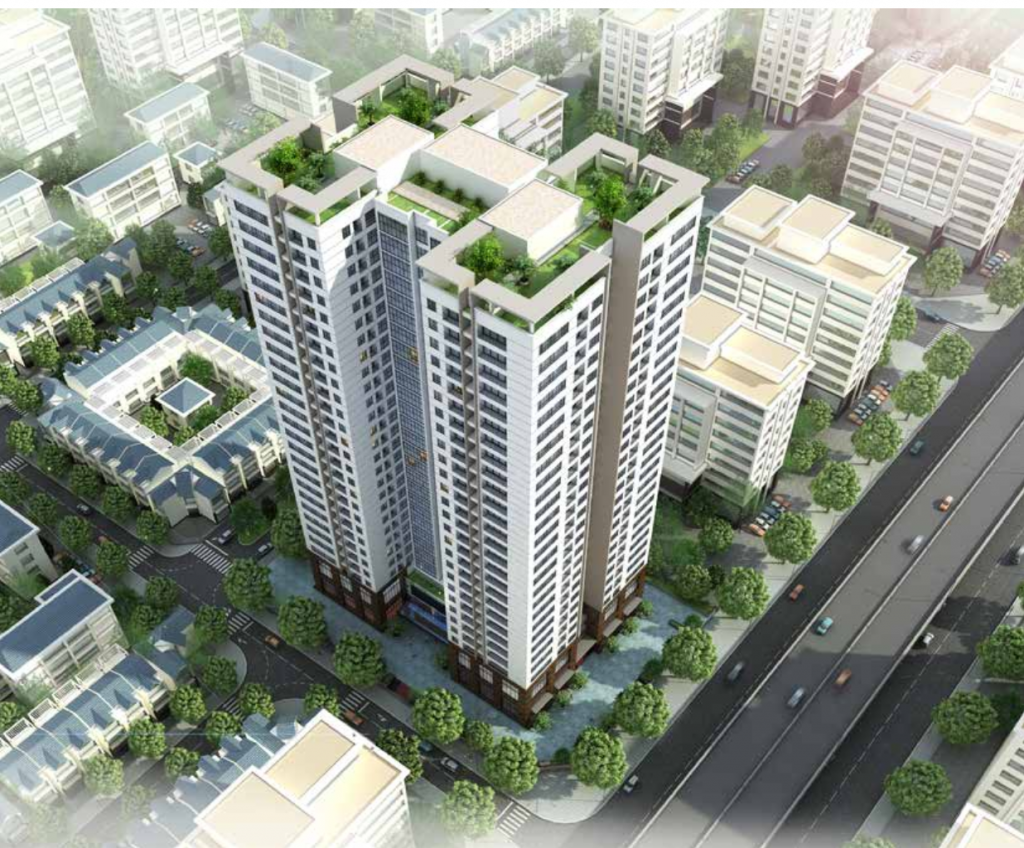 Chung cư Housinco Grand Tower mặt đường Nguyễn Xiển - Hà Nội
