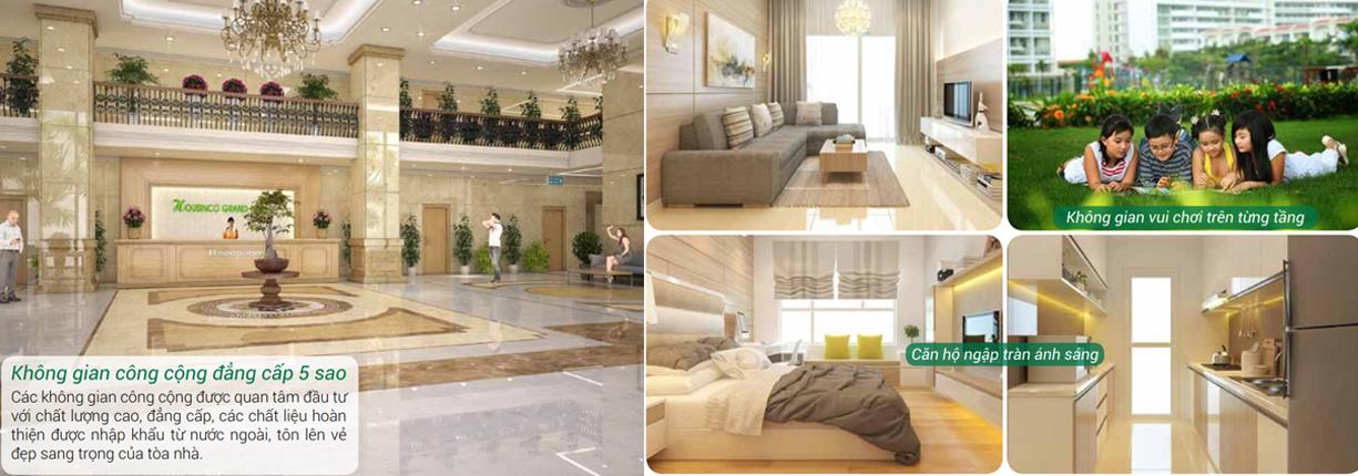 Tiện ích cao cấp 5 sao tại dự án chung cư Housinco Grand Tower Nguyễn Xiển