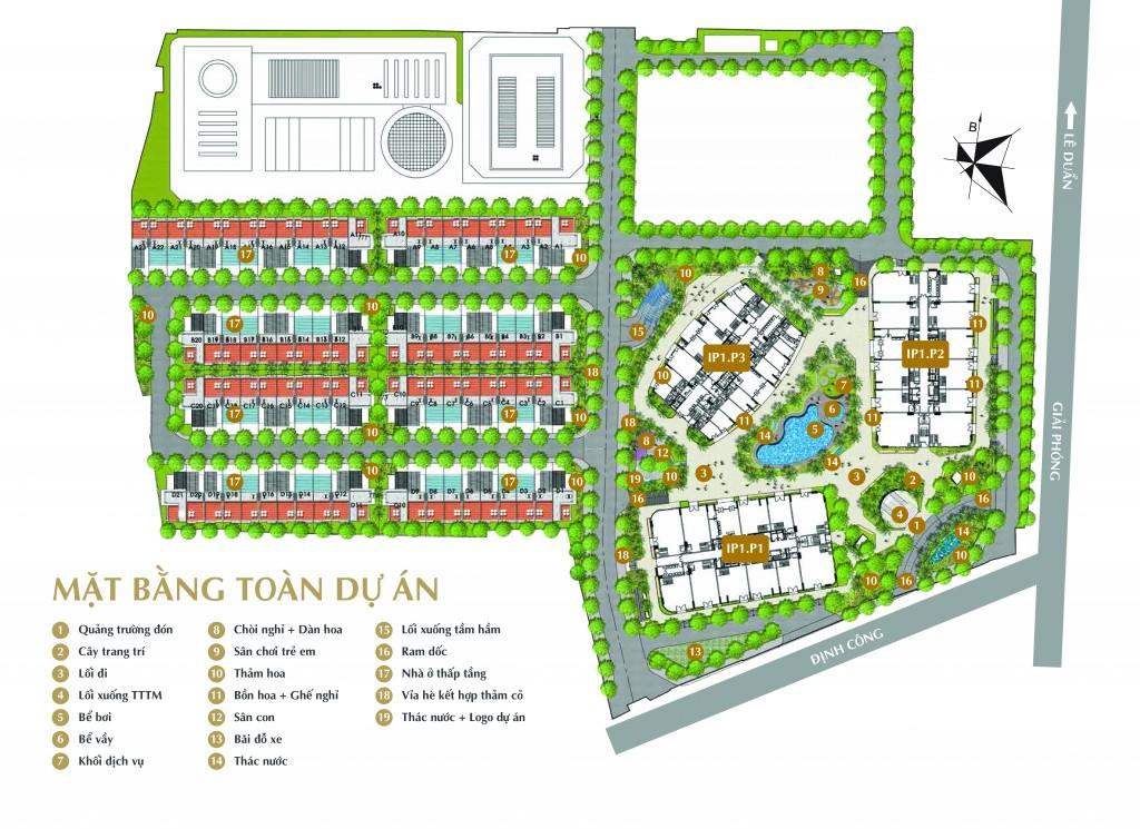 Dự án chung cư 360 Giải Phóng Imperial Plaza