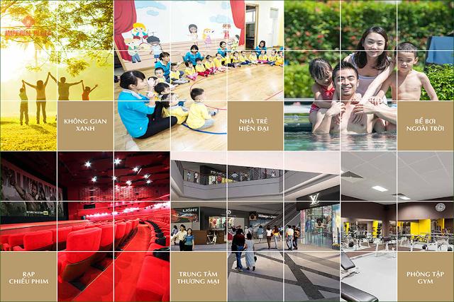 Chuỗi tiện ích liên hoàn tại Chung cư 360 Giải Phóng Imperial Plaza