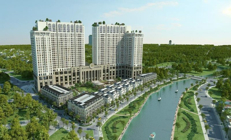 Phối cảnh Tổng thể dự án Chung cư Roman Plaza Hải Phát