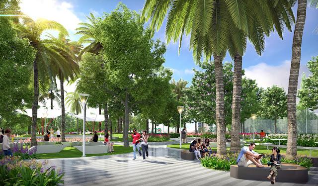 Không gian sống xanh, Châu Âu tại Chung cư Roman Plaza Hải Phát
