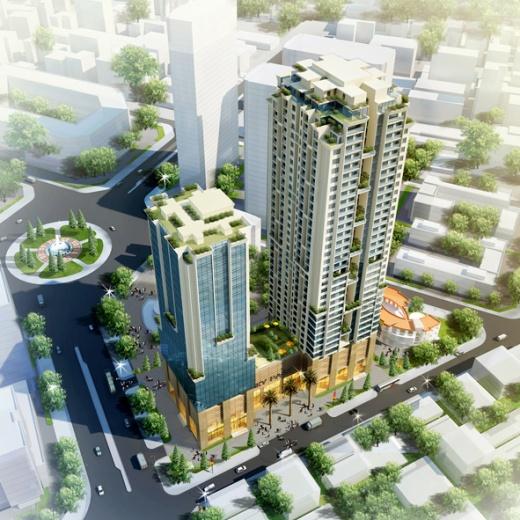 Phối cảnh dự án chung cư Sky Park Residences Tôn Thất Thuyết