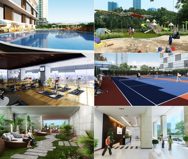 Chuỗi 50 tiện ích cao cấp khác nhau ở dự án chung cư Sky Park Residences Tôn Thất Thuyết