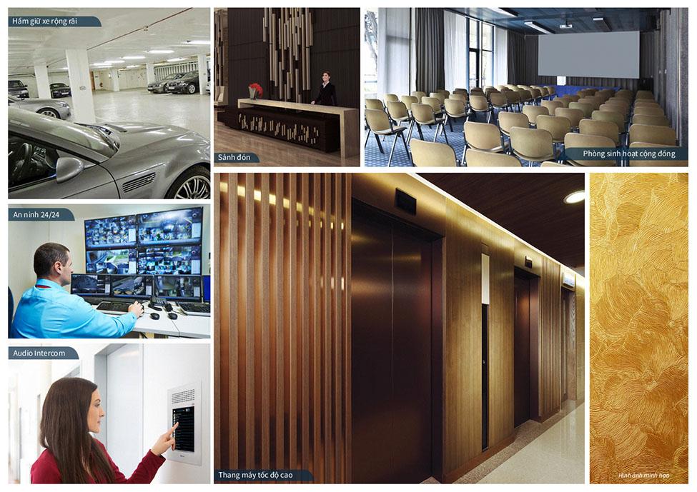 Tiện ích đẳng cấp 5 sao quốc tế tích hợp hoàn hảo tại Chung cư hạng sang Sun Grand City
