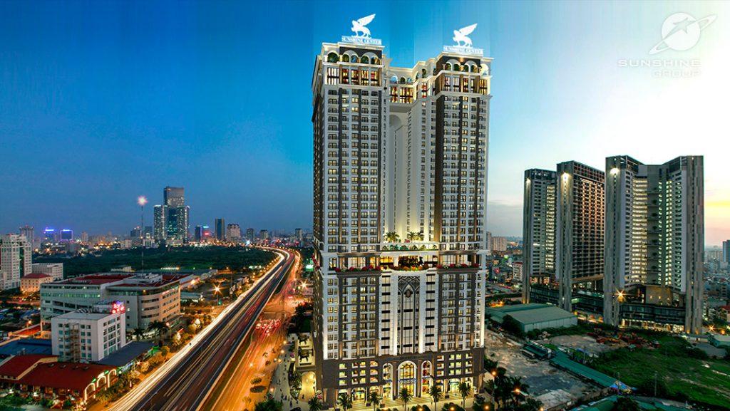 Dự án chung cư Sunshine Center Mai Trang Tower 16 Phạm Hùng - Nam Từ Liêm - Hà Nội