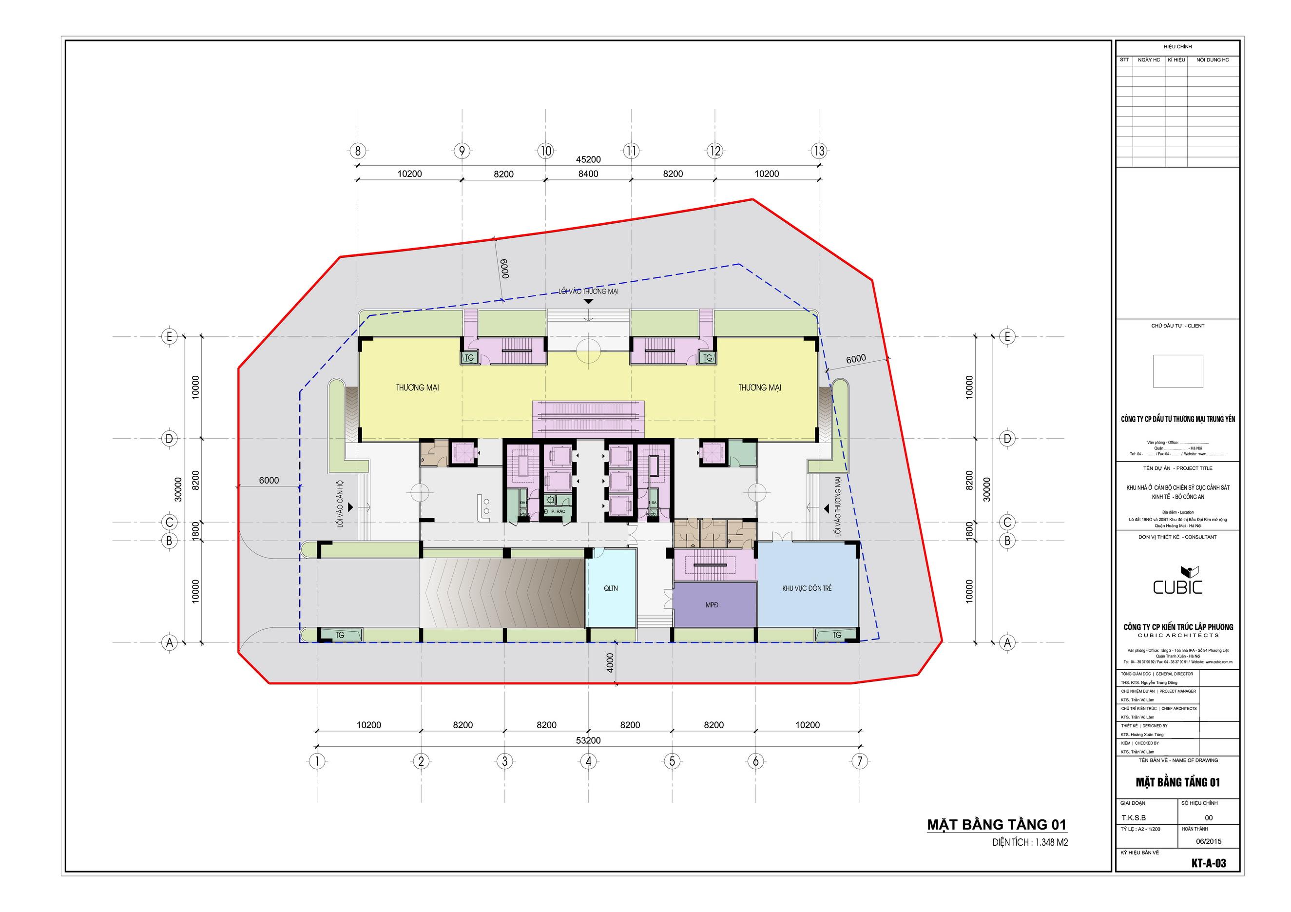 Tầng 1 chung cư