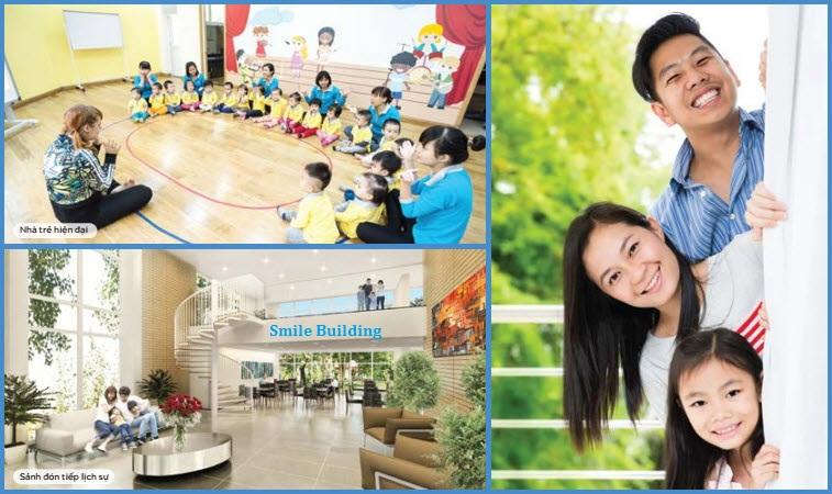 Tiện ích cao cấp tại Chung cư Smile Định Công