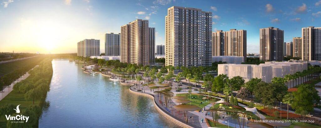 đại đô thị dự án chung cư Vincity Hà Nội Gia Lâm