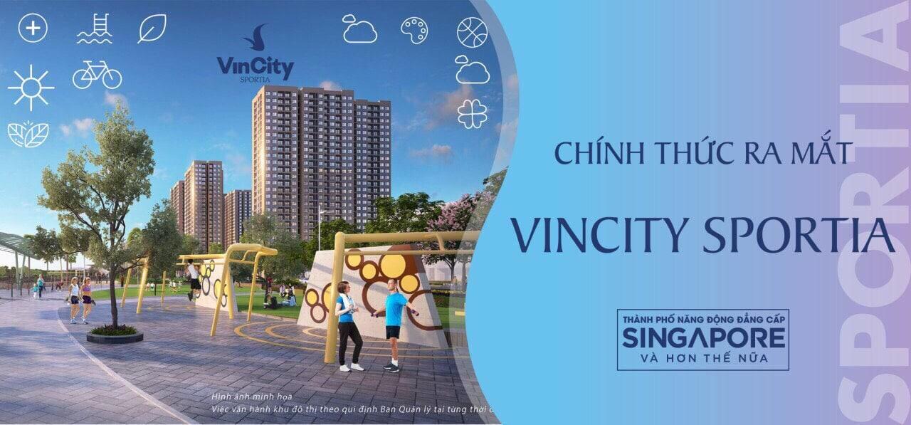 Dự án Vincity Sportia Tây Mỗ Đại Mỗ Hà Nội