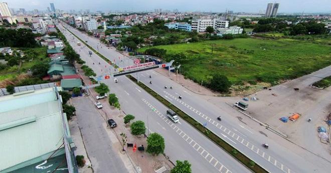 Dự án tọa lạc trên địa bàn 2 phường Tây Mỗ và Đại Mỗ quận Nam Từ Liêm phát triển mạnh