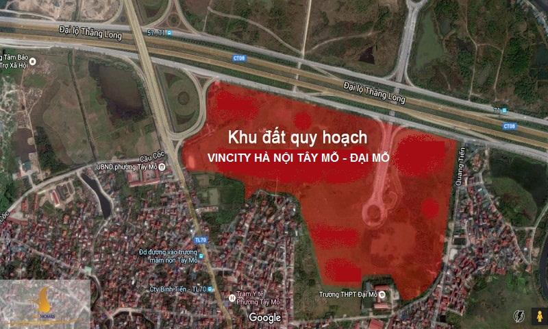 Dự án Vincity Hà Nội Tây Mỗ - Đại Mỗ