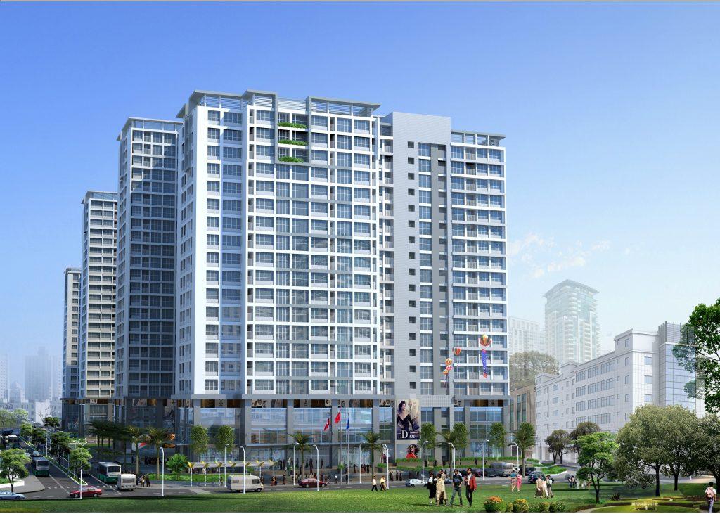 Tổ hợp Dự án Chung cư 40 Thịnh Liệt - Q. Hoàng Mai