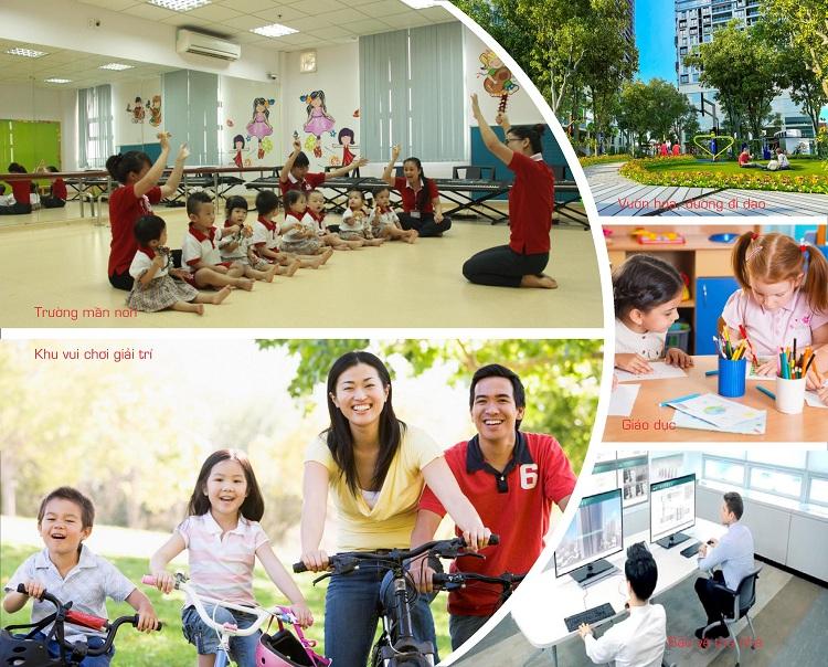 Quần thể Tiện ích cao cấp tại Chung cư 40 Thịnh Liệt