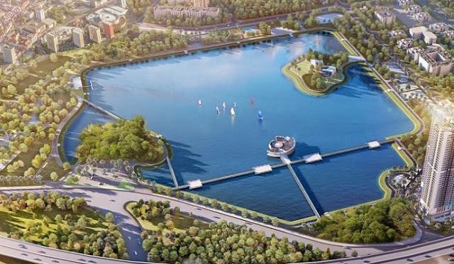 Chung cư Nam Đàn Plaza view trực tiếp Hồ điều hòa Sky Lake