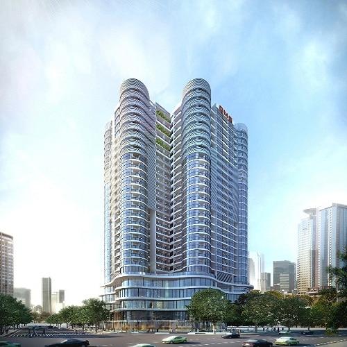 Phối cảnh Dự án Chung cư QMS Tower mặt đường Tố Hữu