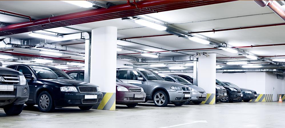 Ba tầng hầm để xe ô tô, xe máy phục vụ quý cư dân của Dự án QMS Tower