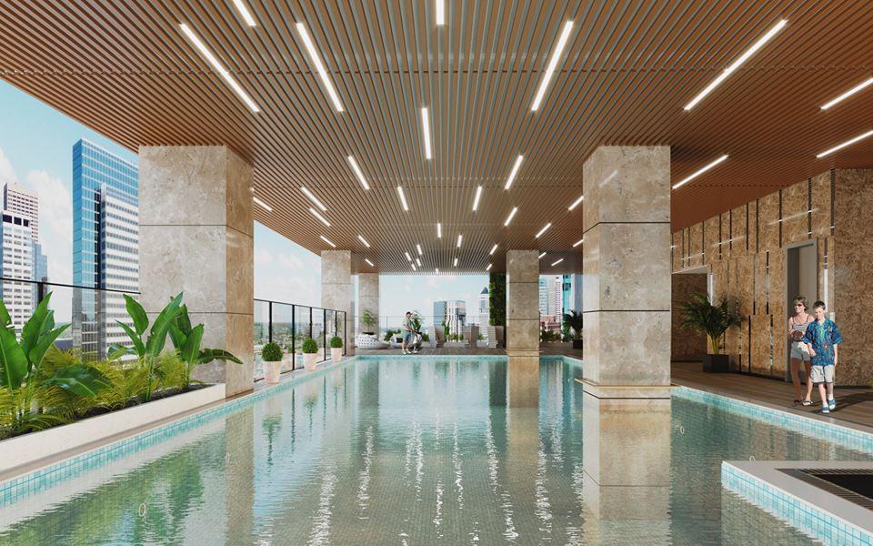 Chung cư Bohemia Hà Nội bể bơi