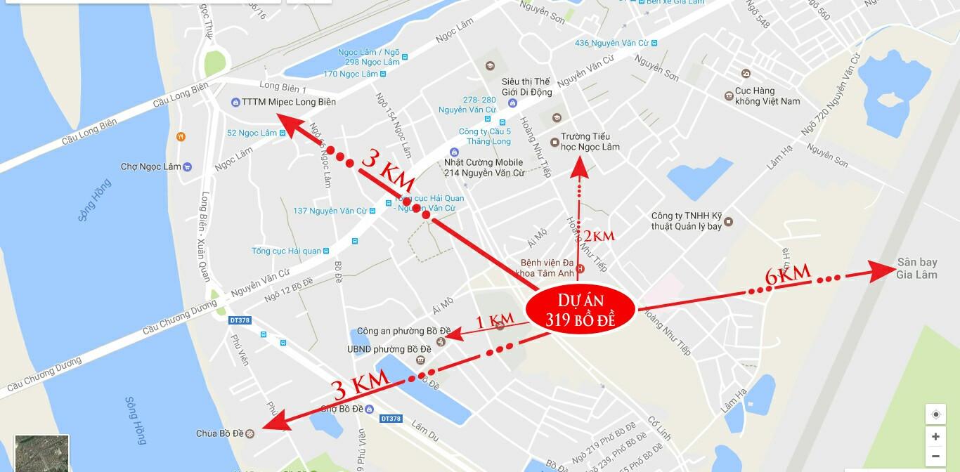 Chung cư HC Golden City 319 Bồ Đề kết nối tuyệt vời