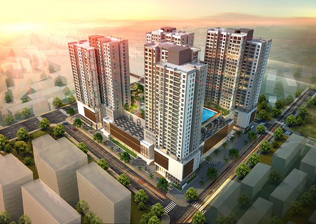 Tổ hợp Dự án Chung cư PD Green Park đang hâm nóng thị trường BĐS Hà Nội