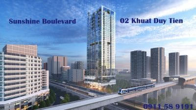 Chung cư Sunshine Boulevard số 2 Khuất Duy Tiến