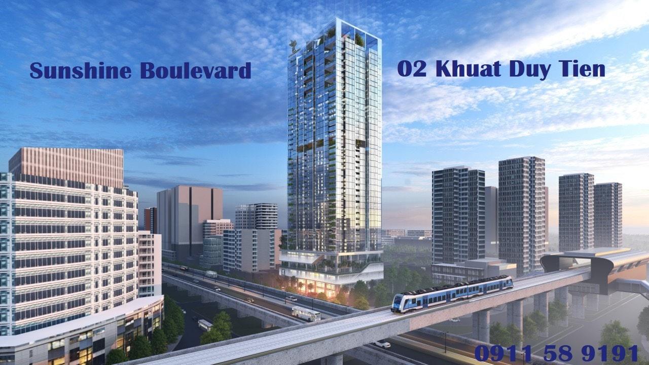 Dự án Chung cư Sunshine Boulevard số 2 Khuất Duy Tiến