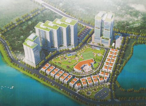 Dự án Chung cư Thạch Bàn Lakeside đã được phê duyệt đầu tư