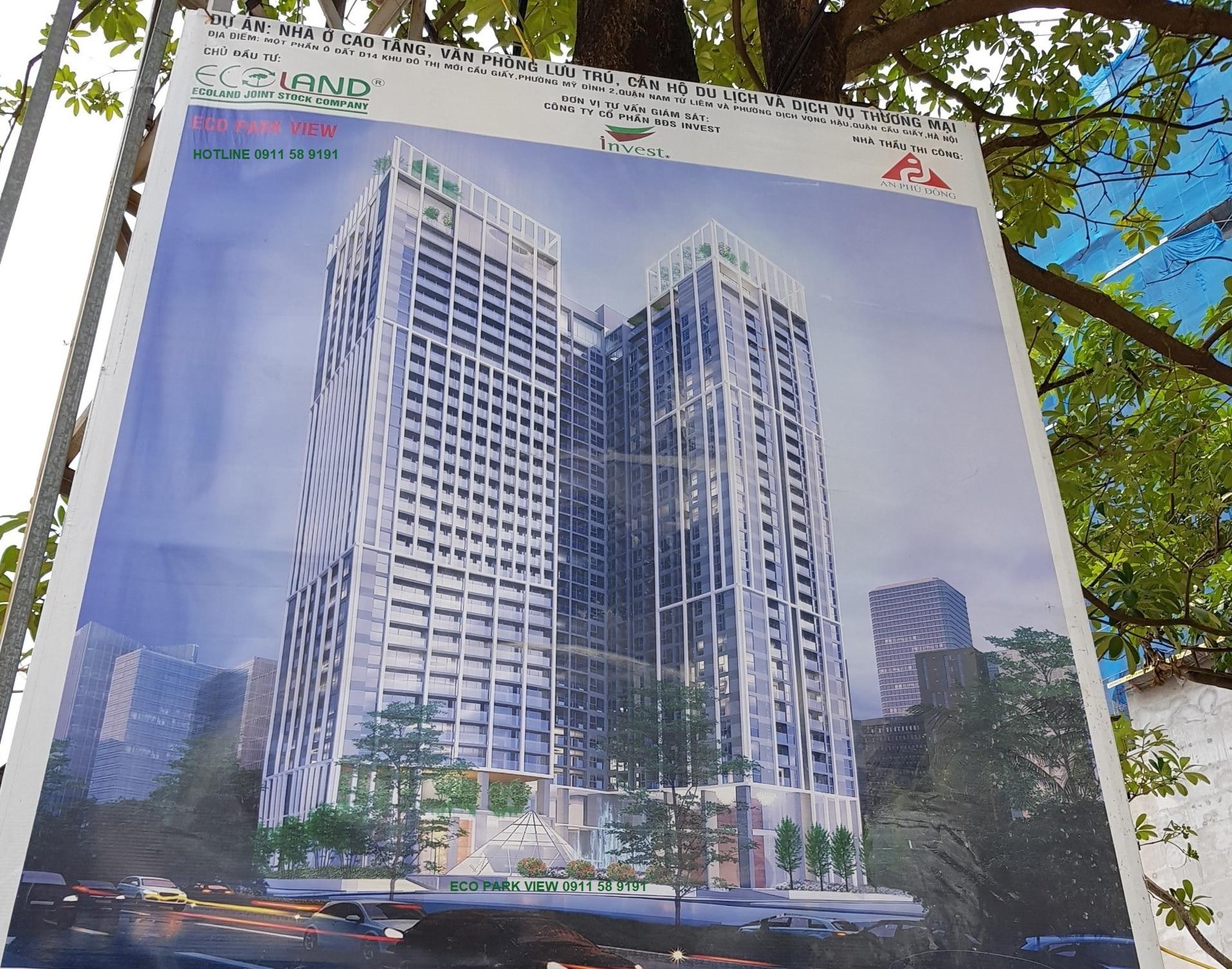 Dự án Chung cư Eco Park View 19 Duy Tân - Q. Cầu Giấy