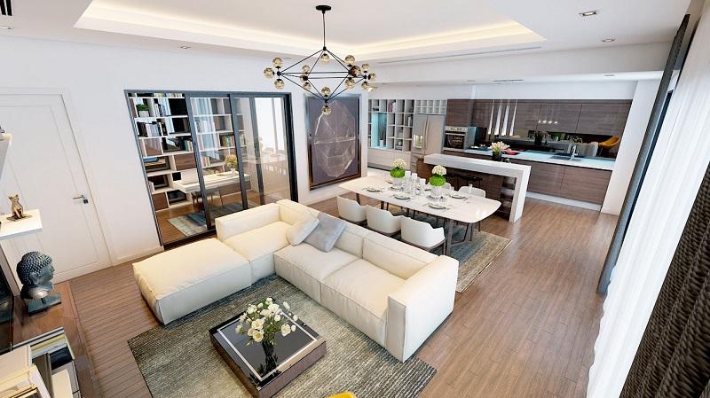 chung cư goldlight complex nội thất