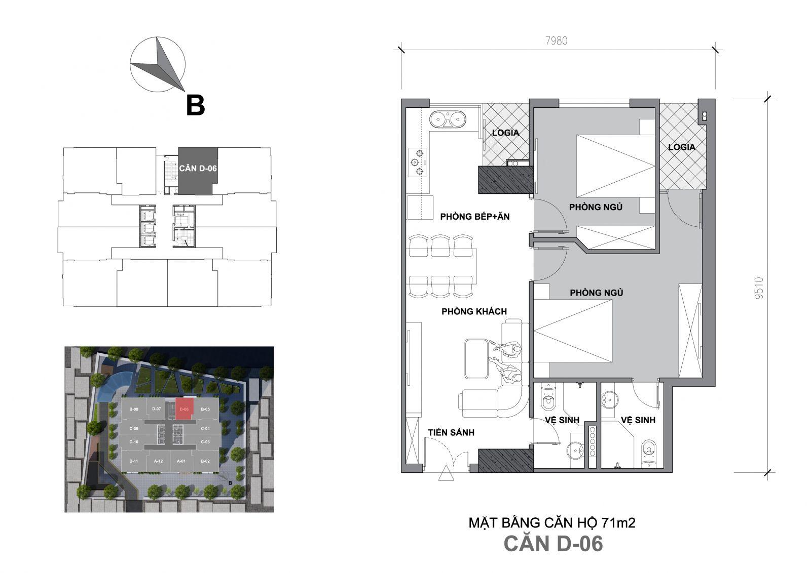 chung cư startup tower d06