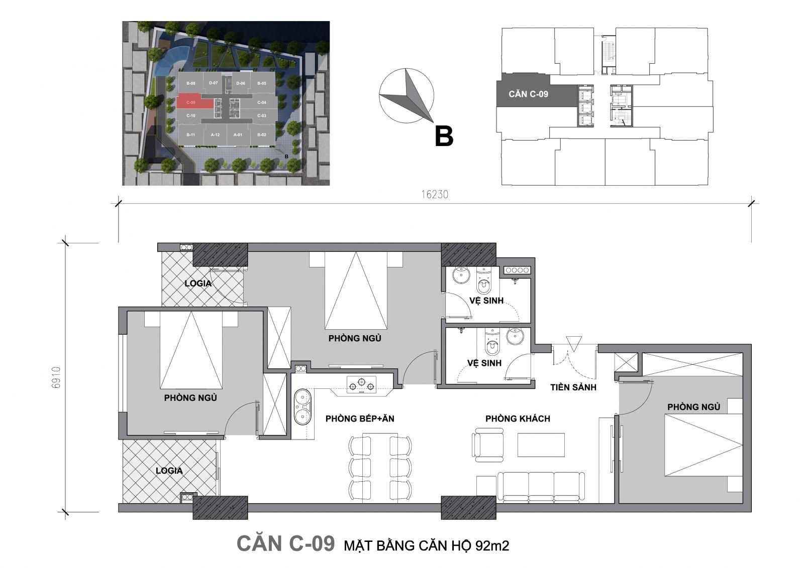 chung cư startup tower c09