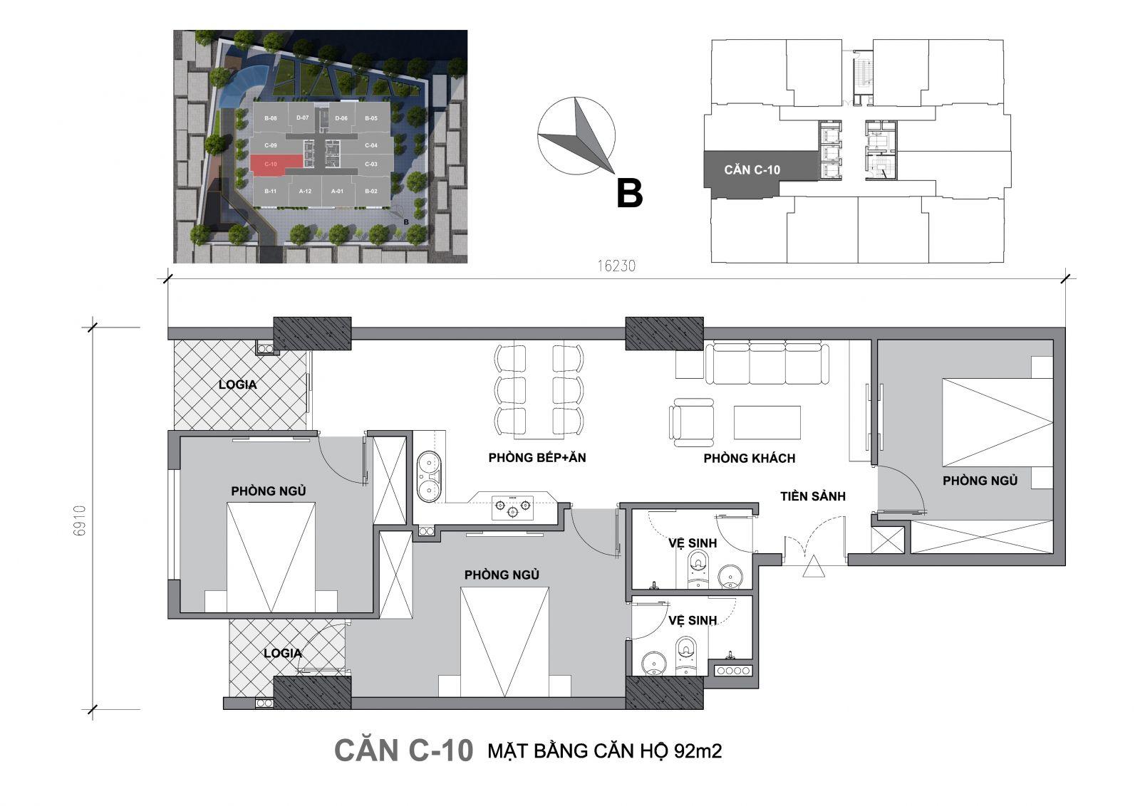 chung cư startup tower c10
