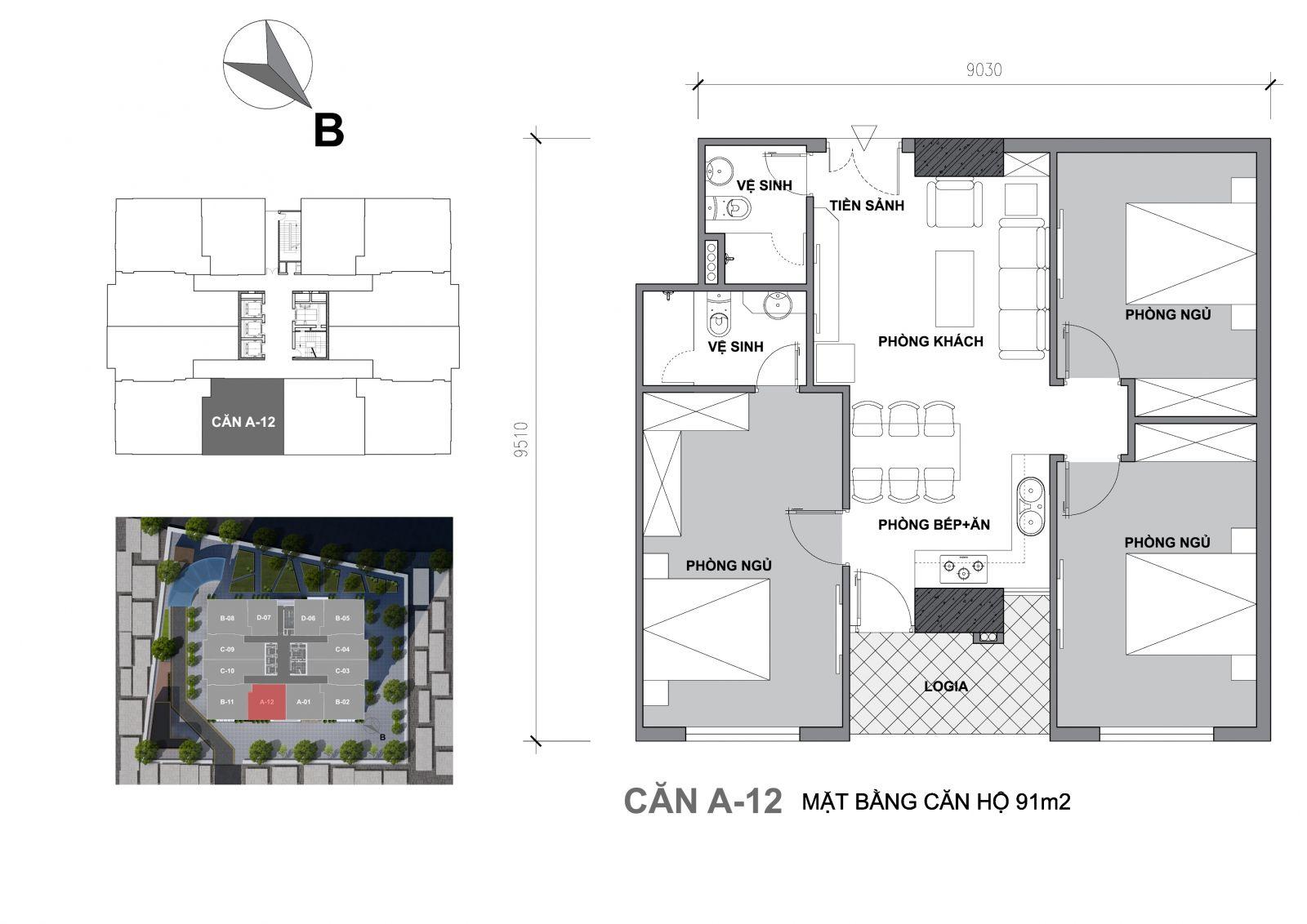chung cư startup tower a12