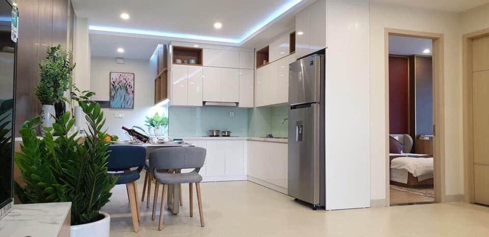 Khu vực bếp căn hộ mẫu Dự án PCC1 Thanh Xuân 44 Triều Khúc