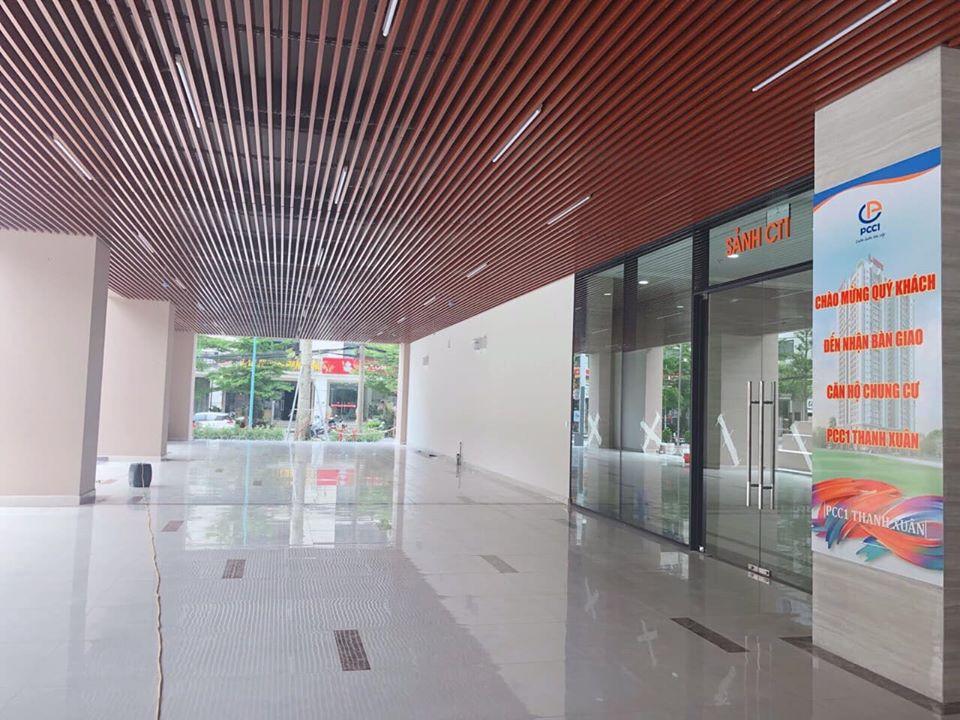 Sảnh CT1 Dự án PCC1 Thanh Xuân chào đón cư dân đầu tiên về nhận nhà