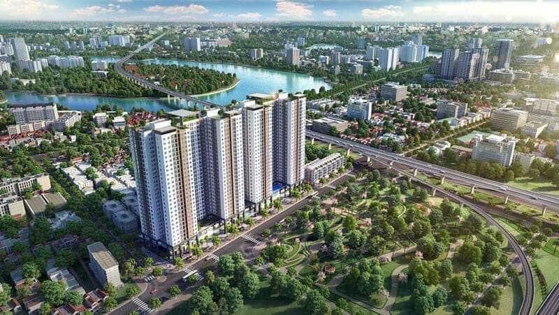 Phương Đông Green Park sở hữu thiết kế Vàng, tiện ích Sang, vị trí Trung tâm